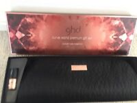 GHD Curve Wand Premium Gift Set - with Creative curl wand, heat resistant bag and NAILSINC polish