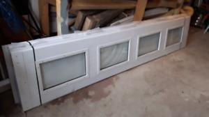 New garage door 9×7 installation kit  (not used)