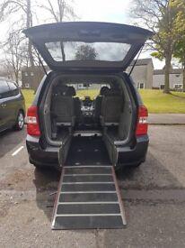 Wheelchair adapted Kia Sedona