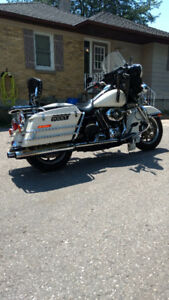 Kansas City Police Harley