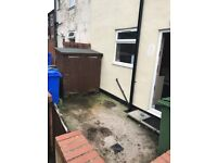 Spacious 2 bedroom house, quiet setting, large rooms, period features, private parking, long let ava