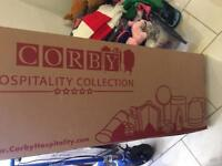 Corby trouser press, brand new unopened box, originally £140