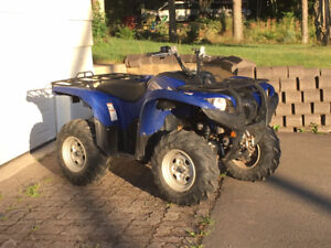 2013 Grizzly 550 4x4 Automatic with  Power Steering