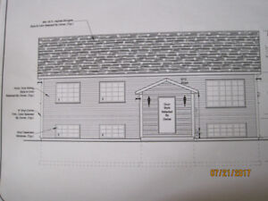 For Sale complete set of house plans - 2 apt bungalow