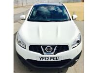 NISSAN QASHQAI 1.6 TEKNA IS DCIS/S 5d 130 BHP (white) 2012