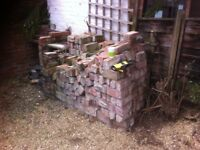 200-275 reclaimed bricks from original wall