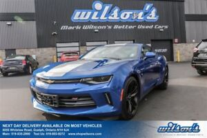 2016 Chevrolet Camaro LT RS PACKAGE! LEATHER! SUNROOF! HEADS UP