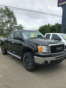 2013 GMC SIERRA 1500 EXT CAB 4X4 !! 5.3 V8 !! LEATHER !!