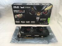 ASUS STRIX GTX970-DC2OC-4GD5 NVIDIA GeForce GTX 970 Graphics Card