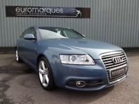 Audi A6 2.0 TDI S LINE 170PS (blue) 2009