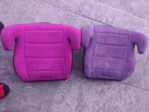 TWO Used Harmony Youth Child Booster Seat