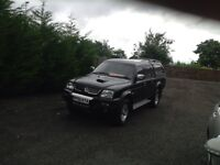 Mitsubishi l200 warrior crewcab pickup