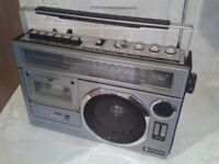 Hitachi portable radio-cassette