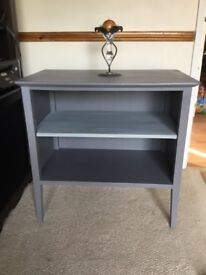 GREY TV STAND / bookshelf