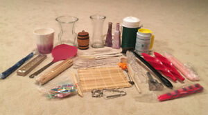 Box of kitchen & decorative items, only $20!