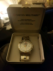 Swiss military platoon series watch