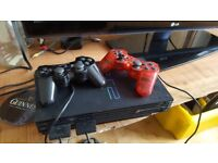 Sony playstation 2 console with extras