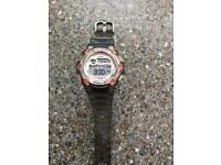 Pink and Grey Baby G Watch