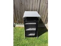 ROYAL Folding Aluminium Camping cupboard