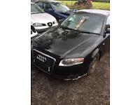 Breaking black audi A4 b7 1.9 tdi SE