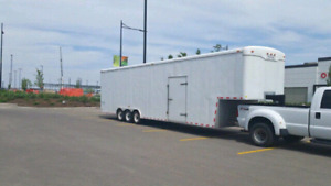 38 ft cargo gooseneck trailer tri axle