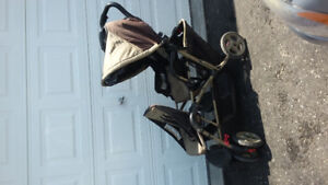 Graco Duoglider Double Stroller Travel System