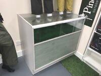 Shop counters - display units