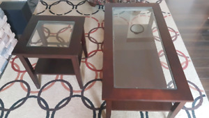 Coffee Table & End Table for Sale