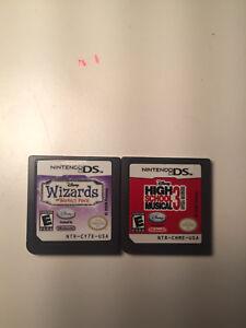 Nintendo DS games!