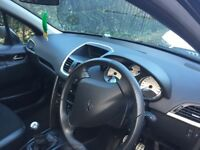 Peugeot 207 1.6 sports version. 40K mileage. New service. New MOT. One lady owner.