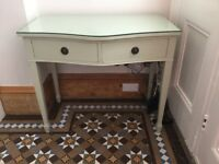 Beautiful hallway / console table for sale, painted using Farrow & Ball