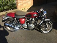 2004 Triumph Thruxton 900 Cafe Racer VGC for Sale or P/X
