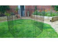 Large dog play pen from pets at home
