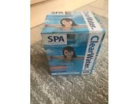 Clear water Spa starter kit/treatments