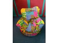 Beanlazy toddler patchwork bean bag