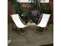 2 Quality Deck Chairs from BillyOh
