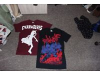 gnarwolves and turbowolf tshirts
