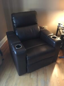High quality electric leather recliner