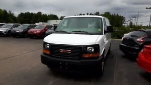 2016 GMC Savana TWO SEAT CARGO VAN WITH A/C POWER LOCKS AND WIND