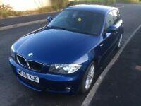 BMW 118 diesel m sport 41k 5 door hatch £30 tax 2009