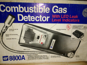 Co.bustible Gas Detector