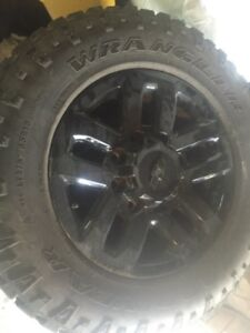 Chevy 8 bolt rims and rubber