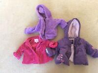Baby girl coats 3-6 months