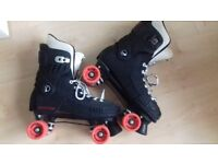 Raptor Roller Skates Size 9-12 with Belair Hockey Wheels