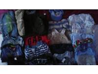 Baby boy clothes 0-12 months 157 items