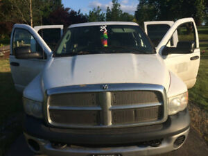 For trade: 4 door 4x4 2004 Dodge 2500