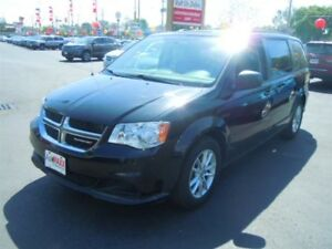 2013 DODGE GRAND CARAVAN SXT- DVD PLAYER, REAR AIR & HEAT, REAR