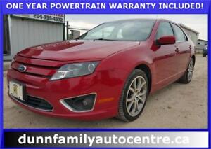 2012 Ford Fusion SEL AWD!