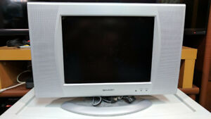 "Sharp 13"" LCD Analog TV"