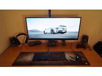 AOC U3477PQU Ultrawide monitor